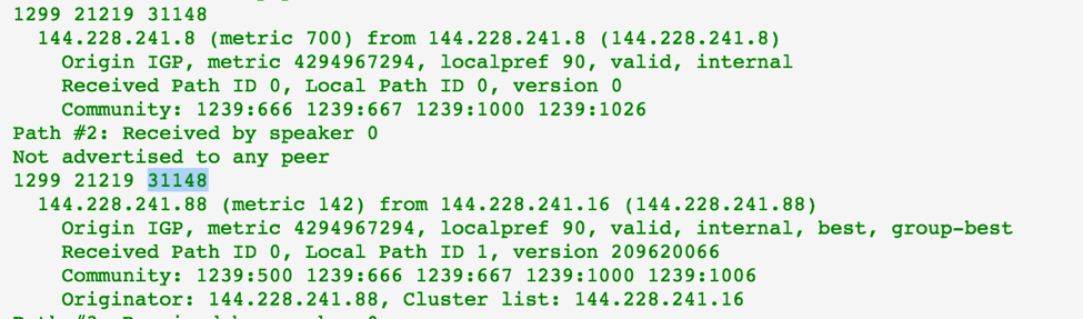 Bgp As Lookup Glass